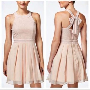 Trixxi short pink tulle skirt dress